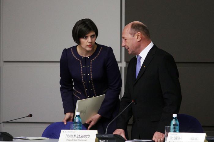 Băsescu, atac la Kovesi:
