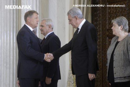 Tudose a vorbit despre remaniere cu Iohannis înainte de confruntarea din PSD cu Dragnea. Mesajul preşedintelui