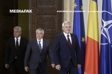 Liderii coaliţiei, întâlnire la Vila Lac 1. Cel mai important subiect de pe agenda puterii
