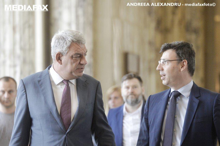 """După o discuţie cu premierul Tudose, ministrul de Finanţe anunţă că ordonanţa de modificare a Codului Fiscal """"intră miercuri în Guvern"""". UPDATE"""