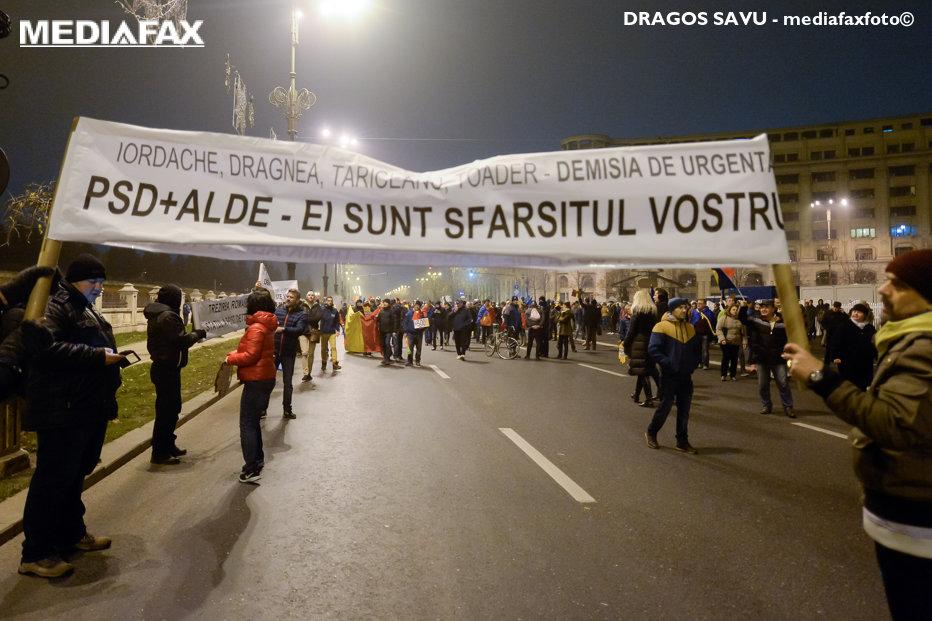 """Prima reacţie din PSD la protestele masive din Bucureşti şi din ţară. """"Se va auzi pe Marte"""""""