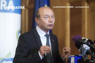 Băsescu: Alianţa PSD – ALDE împinge din nou România într-o zonă gri a Uniunii Europene