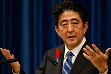 Premierul Japoniei şi-a anulat vizita de la Palatul Victoria