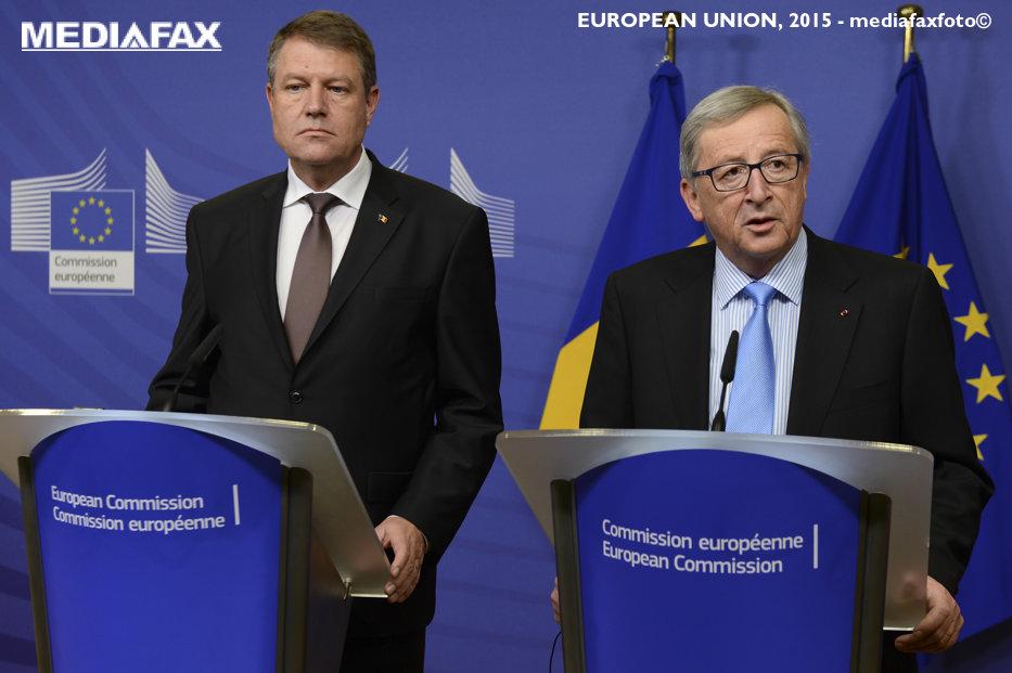 Iohannis se va întâlni cu Juncker, după criticile dure ale Comisiei Europene la adresa României