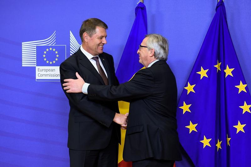 """Iohannis, după întâlnirea cu Juncker. """"Independenţa justiţiei este intangibilă"""". Şeful CE: """"Sistemul de justiţie funcţionează. Nu vom accepta ca România sa facă paşi înapoi"""""""