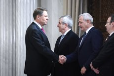 """Discuţia de """"10-12 minute"""" pe care Dragnea a avut-o cu Iohannis, la Cotroceni. """"Gestul antiromânesc"""" pe care i l-a reclamat preşedintelui"""