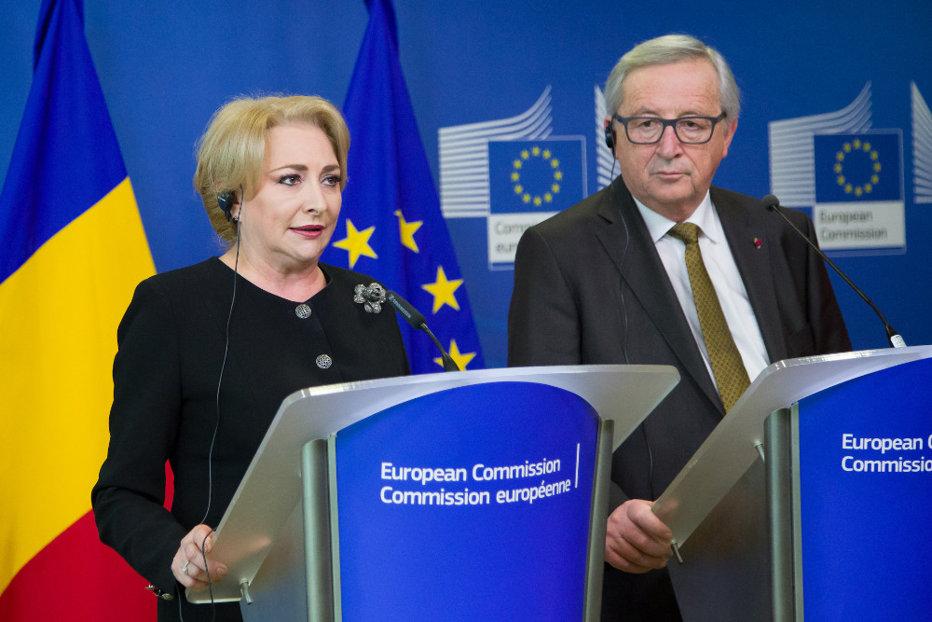 Juncker, mesaj pentru politicieni: Sperăm că sistemul judiciar din România nu va fi supus la încercări