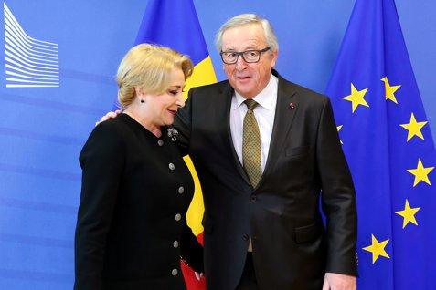 După avertismentul dur al Comisiei Europene, Dăncilă face un anunţ neaşteptat: Juncker m-a asigurat că România va intra în Schengen până în 2019 şi îi va fi ridicat MCV-UL