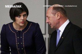 """Ce ar face Băsescu în locul lui Iohannis, dacă ar trebui să decidă soarta lui Kovesi. """"Aş obliga-o să cearnă gunoiul din DNA"""""""