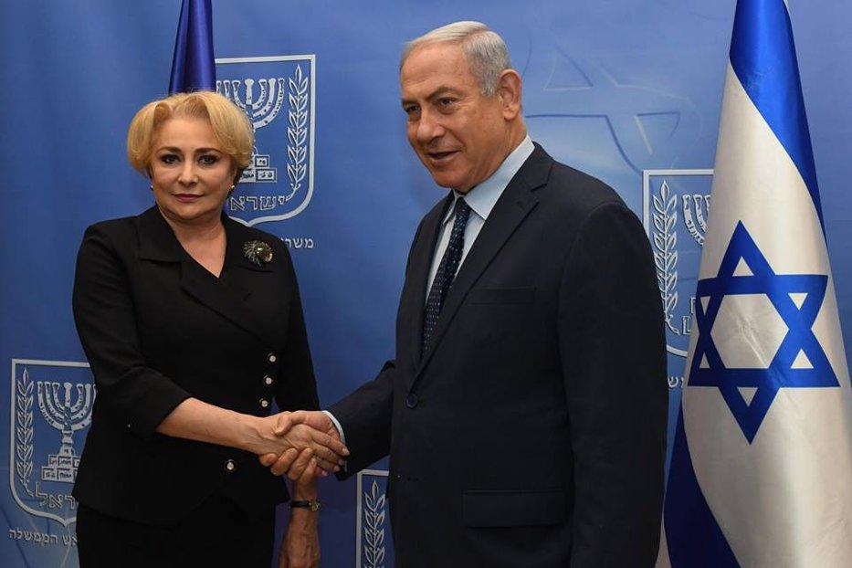 Mesajul transmis de Netanyahu, la câteva ore după ce, la Bucureşti, Iohannis i-a cerut demisia lui Dăncilă