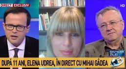 """MOMENT IREAL în direct la Antena 3. Cei din studio au rămas FĂRĂ REPLICĂ atunci când au auzit ce spune Udrea despre Băsescu: """"A fost o GREŞEALĂ URIAŞĂ"""""""
