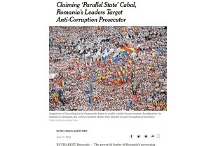 Laura Codruţa Kovesi, interviu în The New York Times 18 iunie 2018