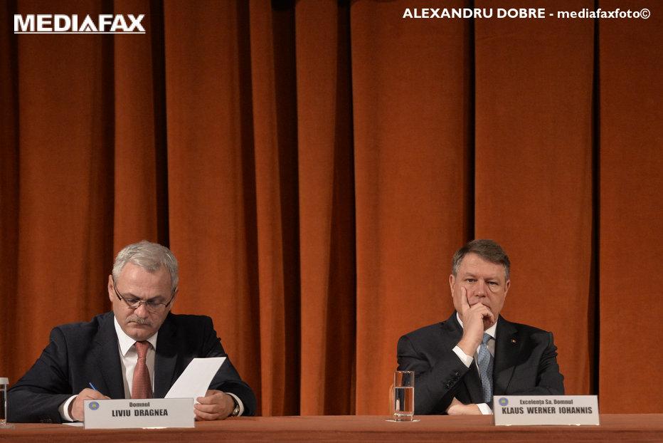 Iohannis: Dragnea trebuie să dispară din viaţa publică românescă