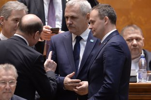Traian Băsescu Liviu Dragnea psihopat incult avid de putere