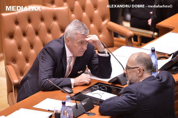 Kelemen Hunor şi Calin Popescu Tăriceanu