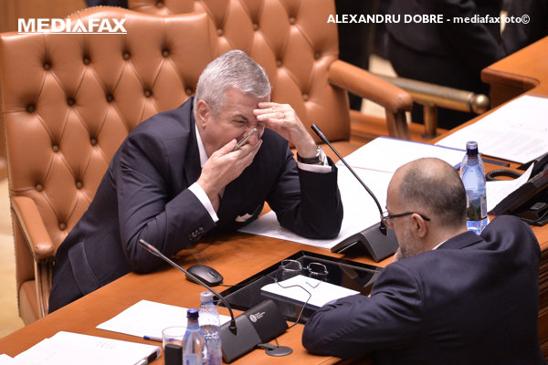 Calin Popescu Tariceanu si Kelemen Hunor