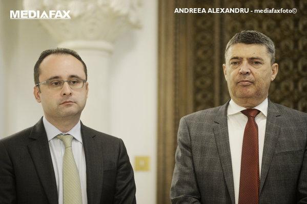 Cristian Buşoi şi Marian Petrache