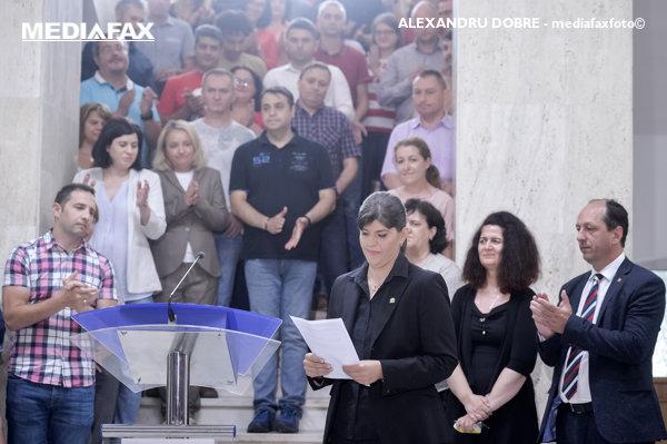 Laura Codruţa Kovesi, declaraţie după revocare