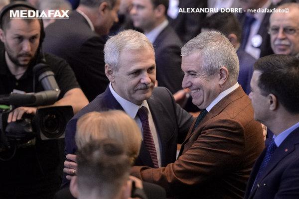 Liviu Dragnea şi Călin Popescu Tăriceanu
