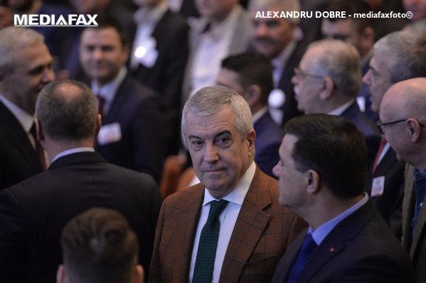Călin Popescu Tăriceanu la Congresul PSD