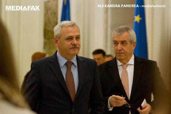 Liviu Dragnea și Călin Popescu Tăriceanu