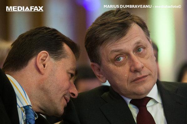 Ludovic Orban şi Crin Antonescu