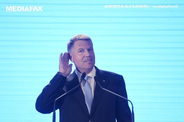 Klaus Iohannis la Consiliul Național PNL
