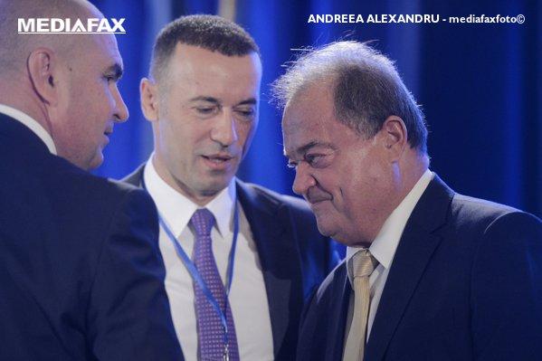 Vasile Blaga, cu Iulian Dumitrescu și Ilie Bolojan