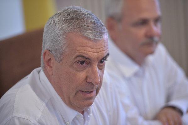 Călin Popescu Tăriceanu şi Liviu Dragnea