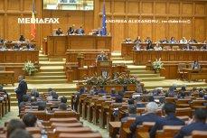 Masa tăcerii în Parlament: OPT PARLAMENTARI au vorbit doar la depunerea jurământului