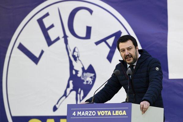 Matteo Salvini, Liga Nordului, Italia