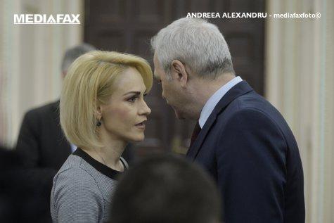 """Liviu Dragnea, """"lapte şi miere"""" ÎN ŞEDINŢE, cu totul altul ÎN SUBTERANE. Gabriela Firea îi sugerează preşedintelui PSD RETRAGEREA"""