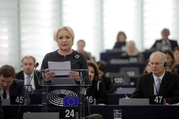 Viorica Dăncilă în Parlamentul European