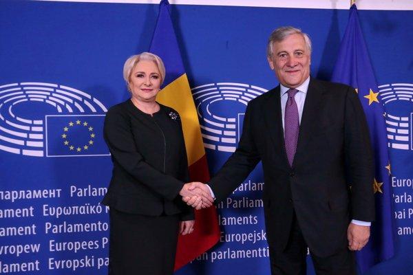 Viorica D[ncil[, ]ntrevedere cu Antonio Tajani