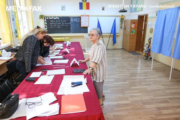 Referendum pentru familie, secţie de vot din Timişoara