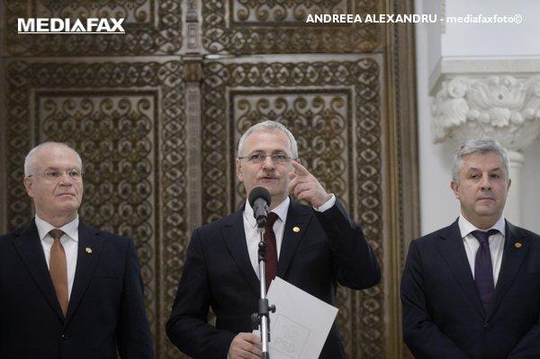 Liviu Dragnea, declaraţii după consultările de la Palatul Cotroceni