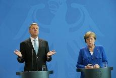 Angela Merkel I-A CERUT lui Iohannis SĂ BLOCHEZE planul Guvernului de a reloca ambasada la Ierusalim