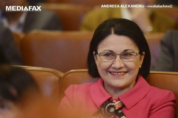 Ecaterina Andronescu, ministru al Educaţiei pentru a patra oară