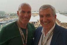 Tăriceanu, întâlniri la ABU DHABI cu Regele Juan Carlos şi Zidane