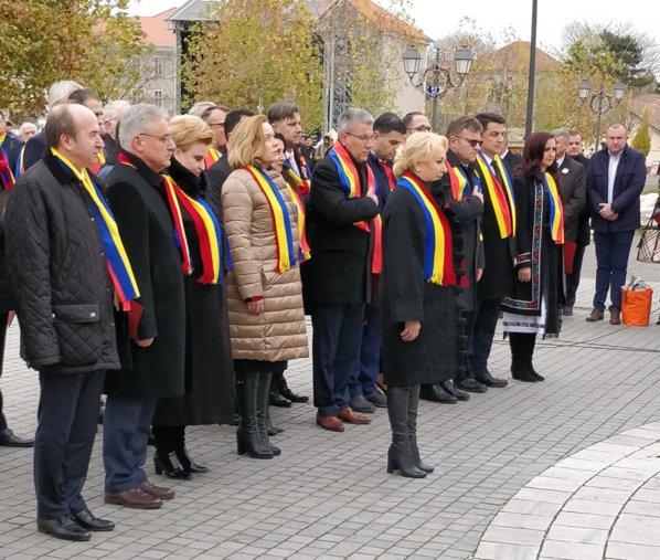 Guvernul în Piața Cetății din Alba Iulia