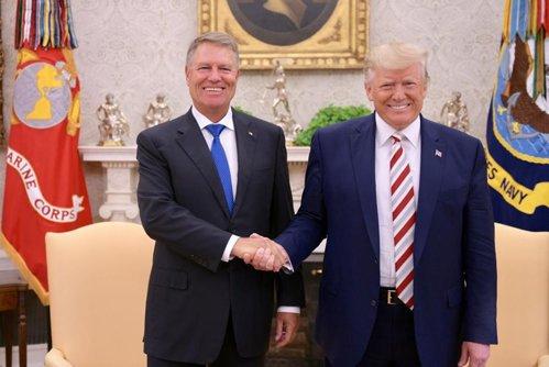 Întâlnire Iohannis-Trump, la Casa Albă. Preşedintele SUA pledează pentru consolidarea parteneriatului cu România / Ce spune despre vizele pentru români / A fost semnat un memorandum de înţelegere între cele două guverne privind tehnologia 5G