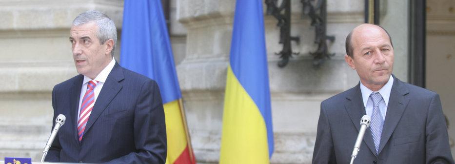 Băsescu îl tamponează pe Tăriceanu cu taxa auto