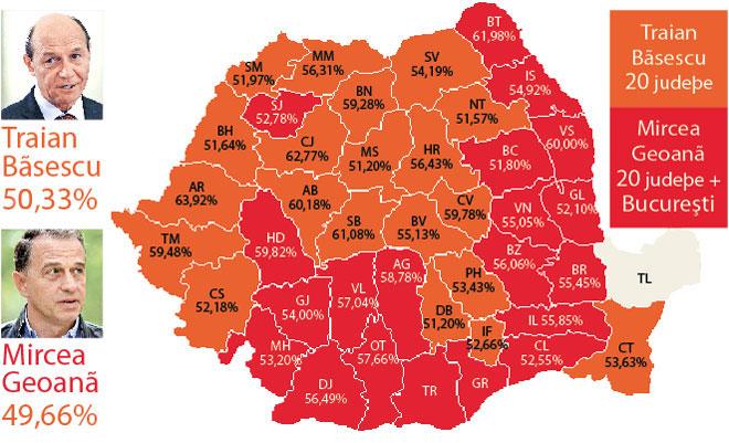 Cum s-a colorat harta României