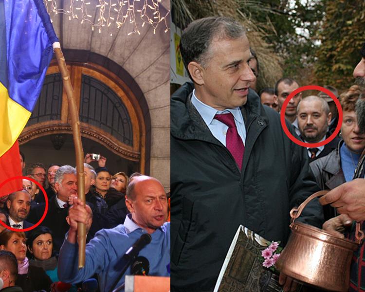 """""""Atacatorul energetic"""" al lui Băsescu a fost în campania electorală din 2007 lângă Mircea Geoană. Vezi aici pozele cu Aliodor Manolea şi cei doi preşedinţi"""