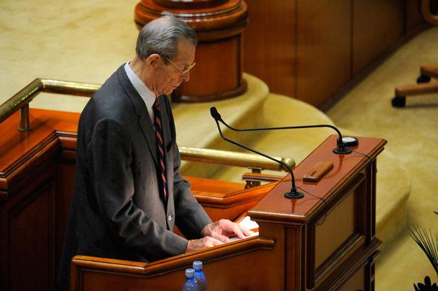 Discursul Regelui Mihai I în Parlamentul României