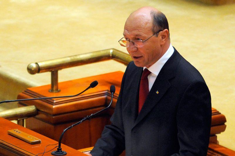 Băsescu a anunţat