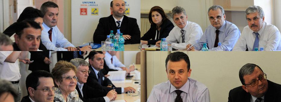 Guvernul Ponta a fost aprobat de Parlament, cu 284 de voturi pentru şi 92 împotrivă
