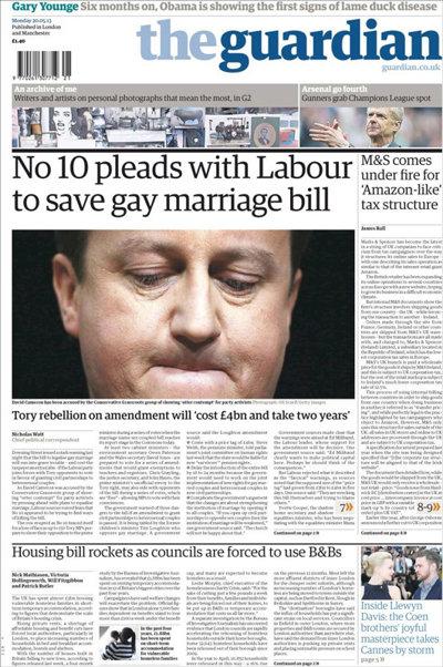 După Franţa, lupta pentru legalizarea căsătoriilor gay atinge apogeul în Marea Britanie. Apelul lui Cameron pentru laburişti