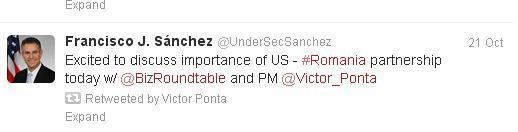 Vizitele în SUA. De ce premierul Ponta nu joacă în aceeași ligă cu președintele Băsescu. Sanchez-ponta