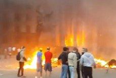 CRIZA DIN UCRAINA. Cel puţin 31 de morţi într-un incendiu izbucnit după confruntările din oraşul Odesa